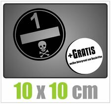 Environnement badge autocollant poussières fines style sticker OEM tuning autocollant stickerbomb