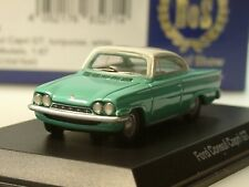 BOS Ford Consul Capri GT, 1963, türkis/weiss - 87645 - 1:87