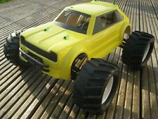 Toyota Starlet 2mm ABS 1:8 Saloon  body shell Kamtec Oval RC £11.99
