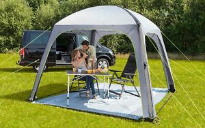 Berger Pavillon Gazebo-L Deluxe UV Schutz UV50+ aufblasbar Sonnenschutz Luftzelt