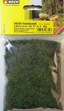 (17€/100g) NOCH 08350, Waldboden, Streugras, 2,5 mm lang, 20 g Beutel, Neu