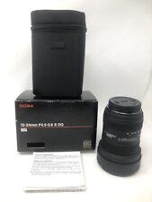 Sigma 12-24mm F4.5-5.6 II DG HSM Lens - Sony A Mount (Open Box, Unused)