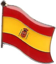 LOT OF 3 Spain Flag Lapel Pins - Spanish Flag Pin