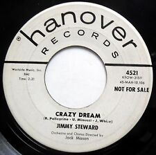 JIMMY STEWARD 45 Crazy Dream / Eternamente T'Amero PROMO Pop HANOVER e9836