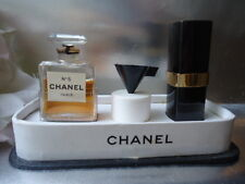 Fabulous CHANEL No5 Vintage 1950s 7ml Parfum Extract & 7ml Purse Spray BOX SET