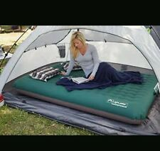 Light Speed Outdoor Camping 2-Person Deluxe Air Bed + Battery Operated Pump