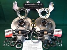 1972-1977 AMC Jeep CJ plus more with dana 30 Drum-to-DISC BRAKE CONVERSION KIT