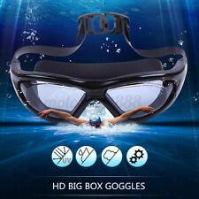 Non-Fogging Anti-UV Swimming Triathlon Swim Goggles Glasses Eyes Protector ☆  *