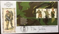 MIKE JACKSON, GCB, Army, Signed 20.9.2007 Army Uniforms FDC Paratrooper, Belfast