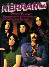 Kerrang! Magazine #81 Deep Purple RATT Meat Loaf Huey Lewis