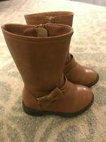 The Children's Place Toddler Girls Size 5 Brown Cowgirl Fashion Boots