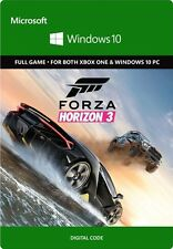 Forza Horizon 3 Xbox One Windows 10 PC Full Game Digital Download Code (no Disc)