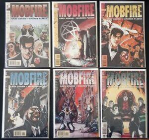 Mobfire 1-6 Complete Set 1 2 3 4 5 6 Dc Vertigo Comics 1994 B&B