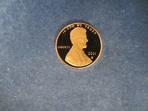 2011-S One Lincoln Cent Deep Cameo Mirror Proof Coin Upper Grading Ranges