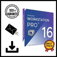 VMware Workstation Pro 16 ✔️LifeTime License✔️Fast Delivery