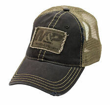M&P by SMITH & WESSON *BLACK & GREEN MESH BACK* HAT CAP *NEW* MP26