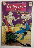 Detective Comics #272 Batman & Robin / Crystal Creature 1959 Vintage Old Comic