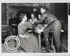 Anne Baxter, Robertson, Hopkins, Mitchell still THE OUTCAST OF POKER FLAT (1952)