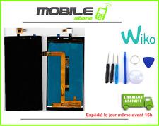ECRAN LCD + VITRE TACTILE POUR WIKO ORIGINAL RIDGE FAB 4G NOIR + OUTILS