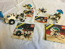 LEGO, LOT Futuron, 6885, 6830, 6810, 6848,+minifigs all100%complete+instructions