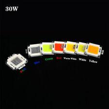Red led chip,30W,30-36V ,High Power LED Lamp Light Led COB SMD Bulb Chip DIY