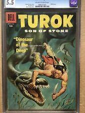 Turok Son Of Stone #8. CGC 5.5 (Dell)