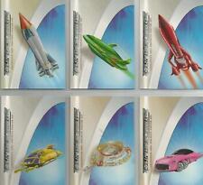 Thunderbirds Are Go Movie : Memorabilia 2004 6 Card Preview / Promo Set #TMP1-6