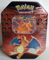 "BRAND NEW! Pokemon TCG HIDDEN FATES ""CHARIZARD GX"" Tin! SEALED! A MUST HAVE! 🔥"