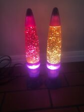 Set Of Two Lava Lamps