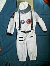 Astronaut Costume Space Jumpsuit & Cap NEW Size 4-6 Boys Girls