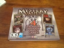 Mystery Vault: The Dracula Files, Blood Ties, Interpol, G.H.O.S.T hidden objects