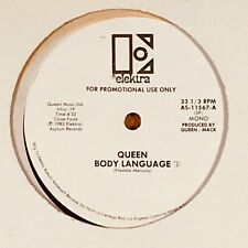 "Queen - Body Language. Promo 12"" Single Record."