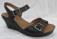 Clarks Women's 100% Leather Wedge Mid Heel (1.5-3 in.) Shoes