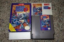 Mega Man 3 (Nintendo Entertainment System NES, 1990) Complete In Box B GOOD