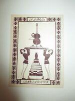 1928 EX LIBRIS  THIERACK im Buch Paul Stefan :  Franz Schubert : exlibris