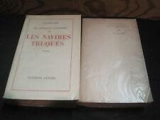 Jacques BAIF: les apprentis faussaires.  2 volumes E.O. 1/100 Alfa