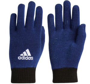 Adidas BC Knit Gloves Outdoor Sports Casual Running Blue Unisex NWT GV6540
