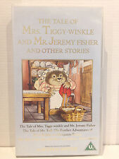 THE TALE OF MRS TIGGY-WINKLE AND MR JEREMY FISHER & OTHER STORIES~RARE VHS VIDEO