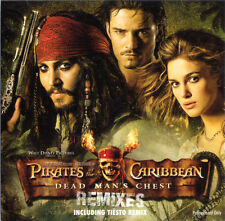 RARE Pirates Of The Caribbean – Dead Man's Chest (Remixes) Promo CD