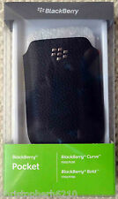 Genuine Original Blackberry Pocket Curve 9300 9330 Bold 9700 9780 Case Cover