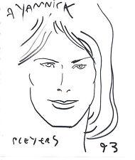 Dessin dédicacé Pleyers 1993