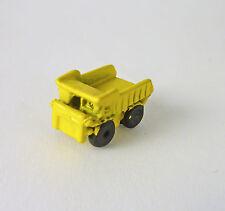 Dollhouse Miniature Artisan YELLOW Toy Dump Truck, 2900