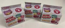Lot (3) Num Noms Lights series 4 New Sealed Blind Boxes