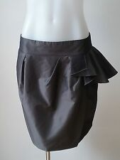 Cue Above Knee Solid Regular Size Skirts for Women
