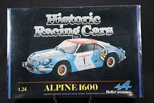 YS020 HELLER 1/24 rare maquette voiture 80745 Alpine Renault 1600 Corse N°1 1985