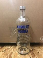 Absolut Vodka 1L Empty Sealed Display Bottle