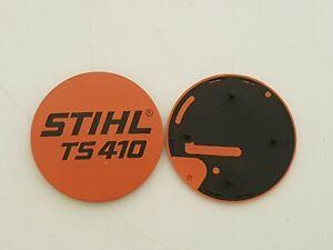Genuine Stihl TS410 Badge/Emblem 4238-967-1500