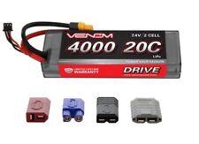 DRIVE 7.4V 4000mAh 20C 2S LiPo Battery: UNI 2.0 Plug (VNR1554)