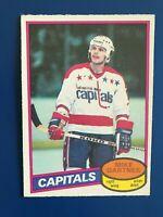 1980-81  O-Pee-Chee  OPC  Mike Gartner  #195  (RC)  Look!