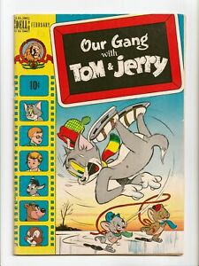 Our Gang with Tom and Jerry #55 Golden Age Dell Comics 1949